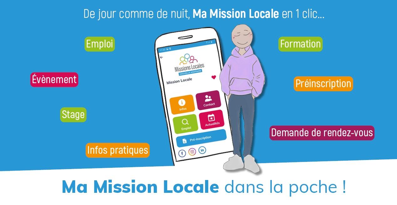 L'application «Ma Mission Locale» !