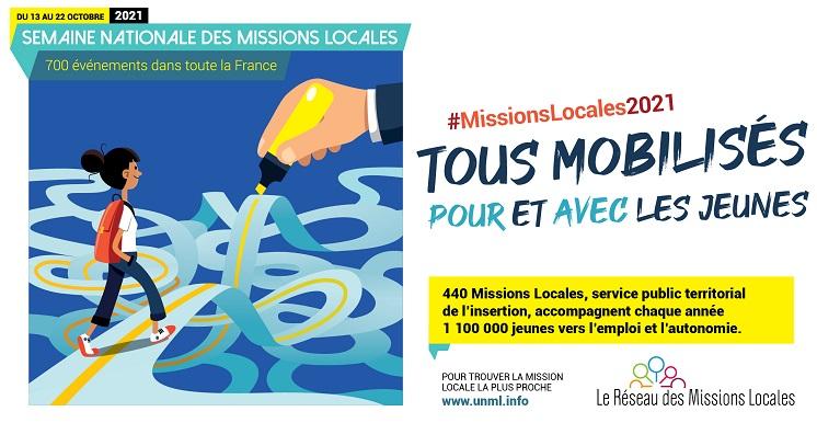 Semaine Nationale des Missions Locales : le programme !